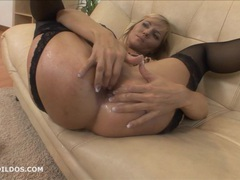 Blonde milf punishes her asshole with a brutal dildo movies at find-best-babes.com