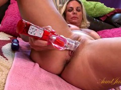 Sexy mommy with a toy in her shaved vagina movies at find-best-lingerie.com