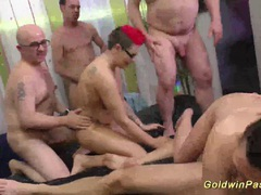 Slippery nuru lederhosen orgy movies at kilotop.com