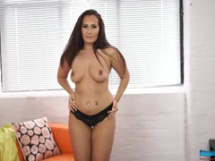 Buxom stripping girl has a fantastic curvy body movies at find-best-hardcore.com