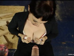 Get a virtual blowjob from a sexy british girl clip