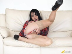 Amazing pussy in a sensual upskirt tease movies at freekiloporn.com