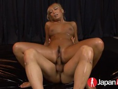 Tanned asian glamour slut fucks a pair of dudes tubes at find-best-asian.com