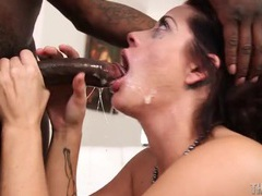 Black dick down her throat and making the slut gag movies at find-best-tits.com