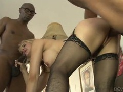 Sarah vandella fucked in all holes by black cock videos