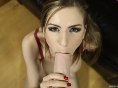 Virtual blowjob from stella cox is super hot movies at find-best-babes.com