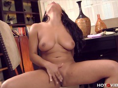 Asian fondles her amazing tits tubes at chinese.sgirls.net