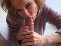 Lingerie and a bathrobe on cocksucking veronica avluv movies at find-best-babes.com