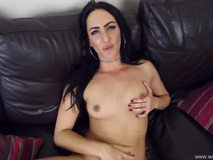 Dark haired british babe loves your dick in her pussy movies at adipics.com