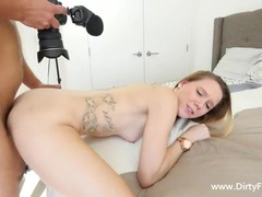 Tattooed porn whore fucked in her casting scene tubes