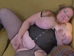 Bbw with her belly squeezed into a corset movies at sgirls.net