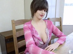 Have a drink with a babe teasing her big tits videos