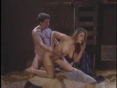 In the barn with a busty girl he fucks hard movies at sgirls.net