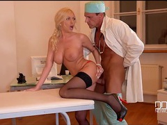 Doctor fucks bent over dona bell from behind videos