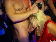 Gloryhole sucking and hot fucking at a night club movies at sgirls.net