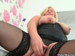 British milf sammy sanders plays with her big tits movies at find-best-ass.com