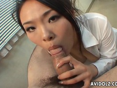 Sensual wet blowjob from a japanese cutie videos