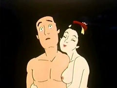 Nude hentai couple in a sexy cartoon movies at adipics.com
