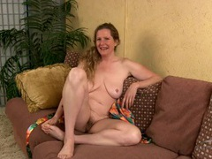 Leggy milf cutie interviews in the nude videos
