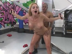 Oiled cathy heaven ass fucked by bbc movies at kilovideos.com