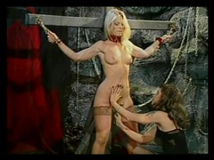 Collared and bound beauty flogged by her mistress tubes