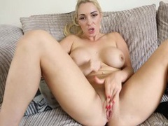 Naked big boobs babe gives you sexy joi videos