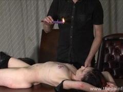 Kinky leather slave fae corbin videos