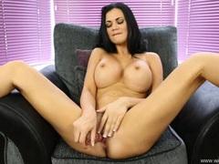 Dildo fucking pornstar jasmine jae talks dirty videos