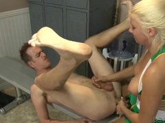 Cheerleader fucks him with a massive strapon movies at find-best-videos.com