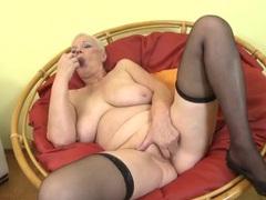 Masturbating granny makes her pussy all wet movies at sgirls.net