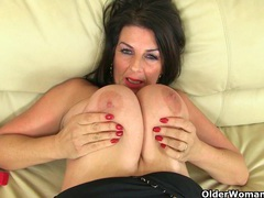 My favorite videos of british milf lulu lush movies at sgirls.net
