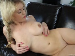 Big breasted british girl gives sensual joi videos