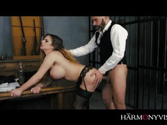 Cathy heaven ass fucked in prison like a good slut tubes
