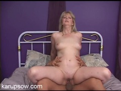 Curvy and horny mature blonde babe fucked hardcore videos