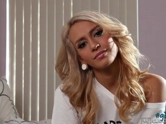 Interview with a smoking hot blonde babe movies