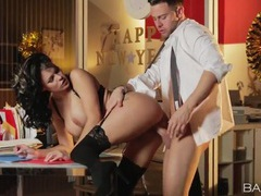 Breathtaking office babe peta jensen fucked at work movies at sgirls.net
