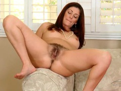 Pretty stripping milf babe with a beautiful bush movies at adipics.com