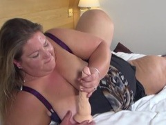 Fucking a toy into her super bbw pussy movies at kilotop.com