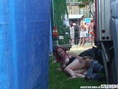 Czech snooper - public sex during concert movies at kilosex.com