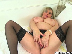 Big titted and british milf sammy sanders plays with dildo videos