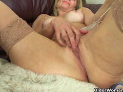 British milf ila jane reveals her hidden treasures videos