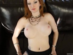 Fuck the hot redhead with big tits in a virtual scene videos