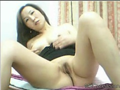 Perky breasts and nice cunt on the asian cam girl tubes at chinese.sgirls.net