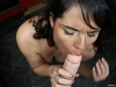 Virtual fucking of a beauty with a cumshot videos