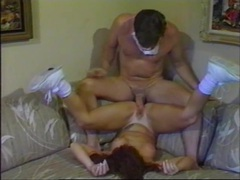 Vintage redhead fucked in her perfect wet pussy movies at lingerie-mania.com