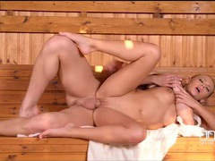 Ass fucking in the sauna with katarina muti videos