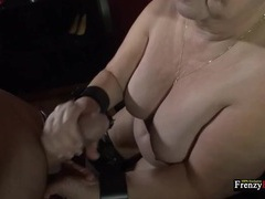 Granny strokes and sucks his young dick erotically movies at find-best-lesbians.com