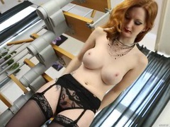 Kinky mistress in lingerie dominates you videos