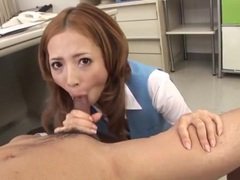 Cute japanese secretary sucks a dick erotically videos