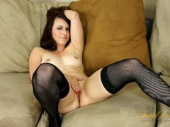 Beautiful milf interviews before she strips for us movies at sgirls.net